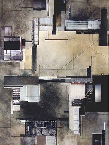 Ginny Herzog Architectural Collage My Art