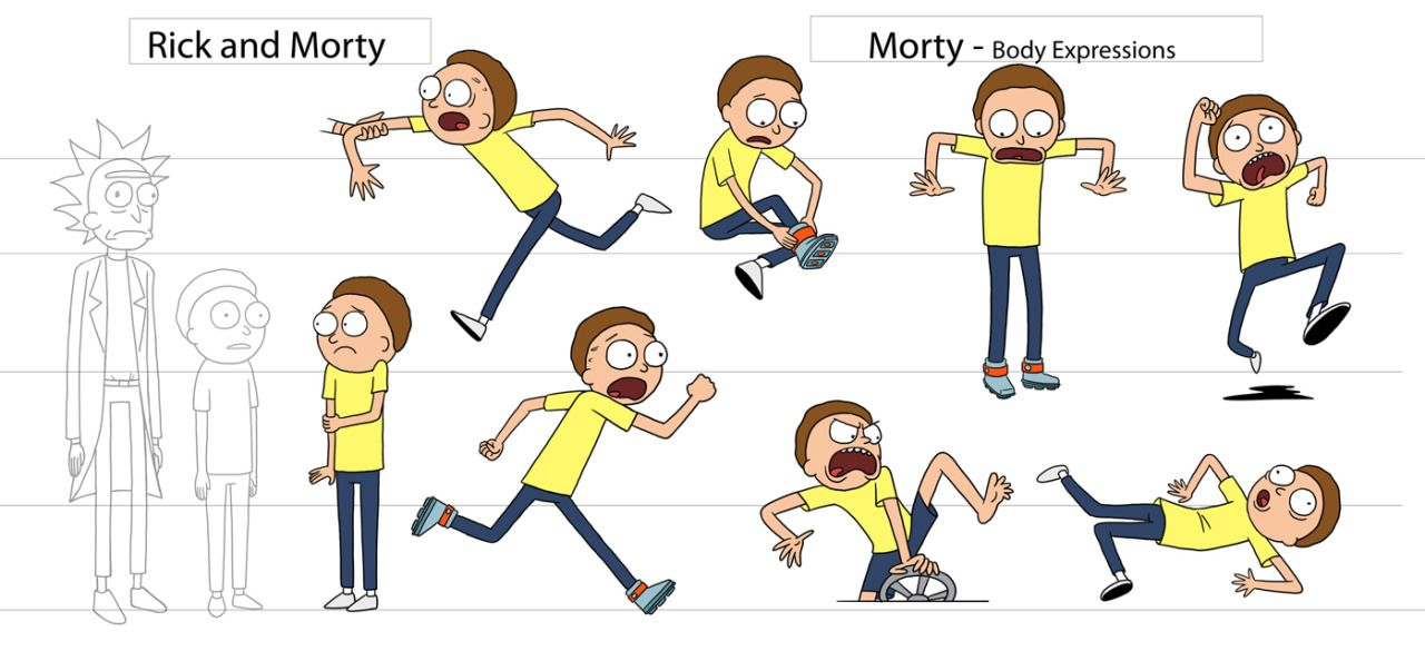 "Character Design Creator : Cosmicscarecrows "" rick and morty character sheets by"