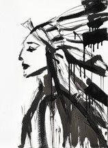 Chief (Female) by Jenna Snyder-Phillips by Jenna Snyder-Phillips