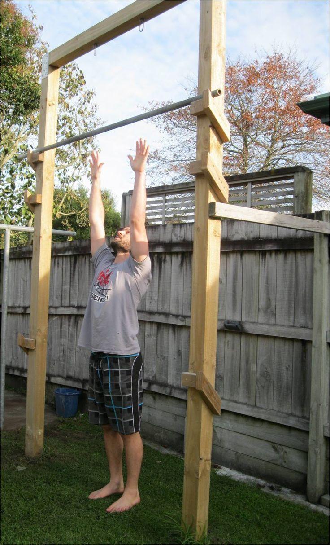 Back To Primal Pull Up Frame Outdoor Pull Up Bar Backyard Gym Bar Workout Backyard diy pull up bar