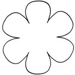 Flower Template Free Printable - Cliparts.co | Letter sjabloon ...