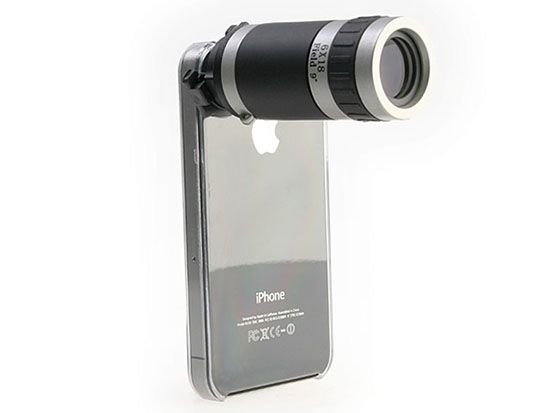 Look Ridiculous With This Massive Lens For Your Smartphone Iphone