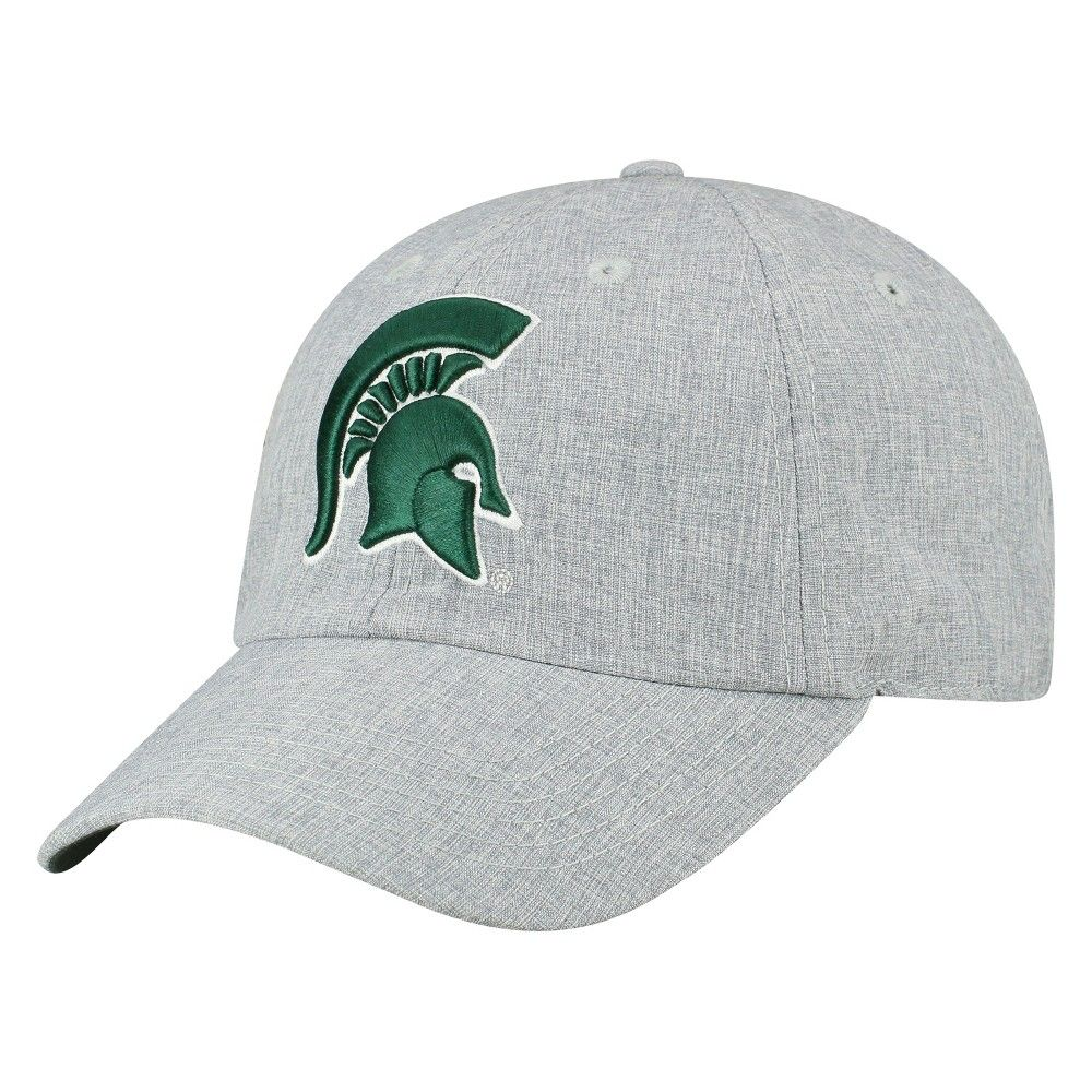 premium selection 4a6d2 7fefe Show off your fandom wherever you go with this Michigan State Spartans  Baseball Hat Gray from