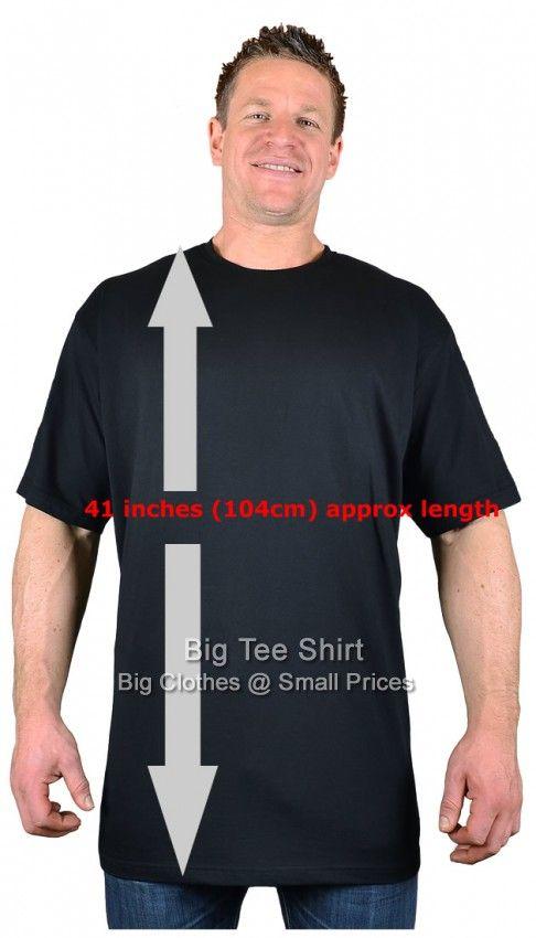 2a4c0000 Black Long Tall T Shirt/Nightshirt M L XL 2xl 3xl 4xl 5xl 6xl 7xl 8xl