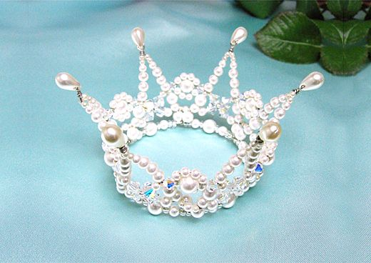 Beaded Crown Jewelry