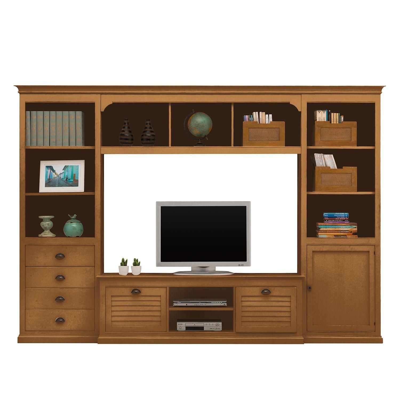 Tv Wand Solleroen I Wohnzimmer Gemutlich Hifi Mobel Zuhause