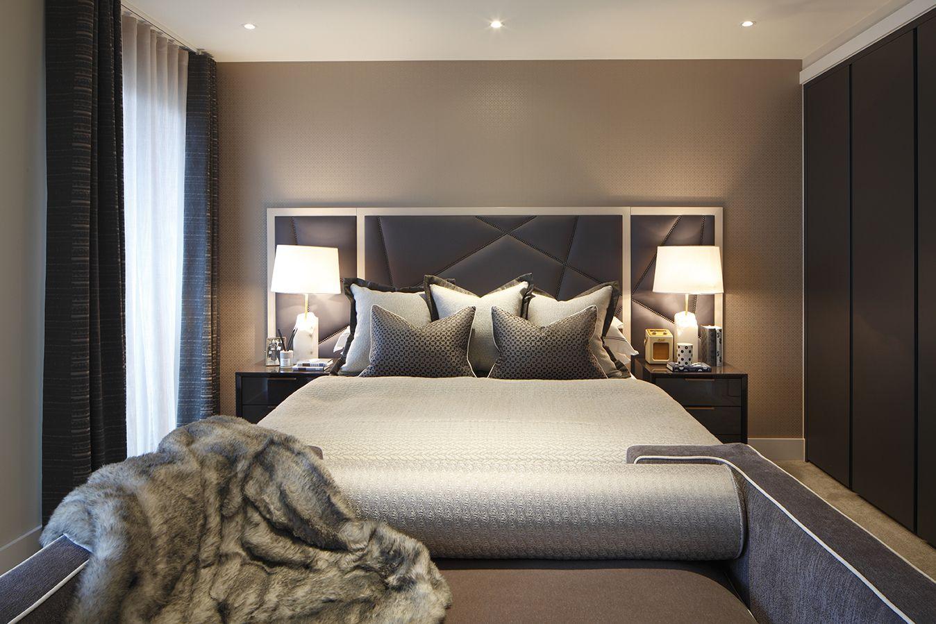 London Luxury Bedroom By Rachel Winham Modern Interior Design
