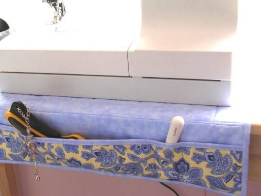 Sewing Machine Organizer - Keep things where you can find them.