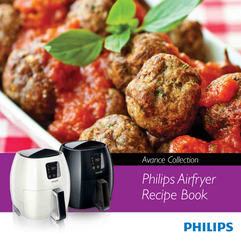 Philips Airfryer HD9240 Recipe Book Avance Collection.pdf