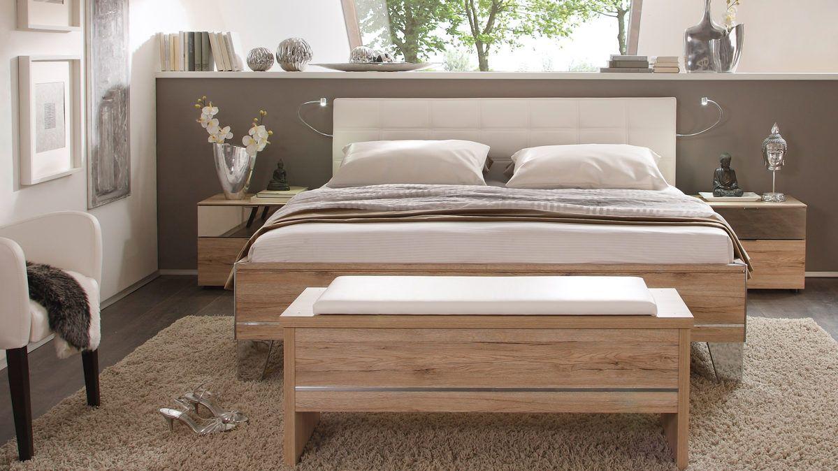 Bettanlage aus der sonate schlafzimmer kombination for Schlafzimmer kombination