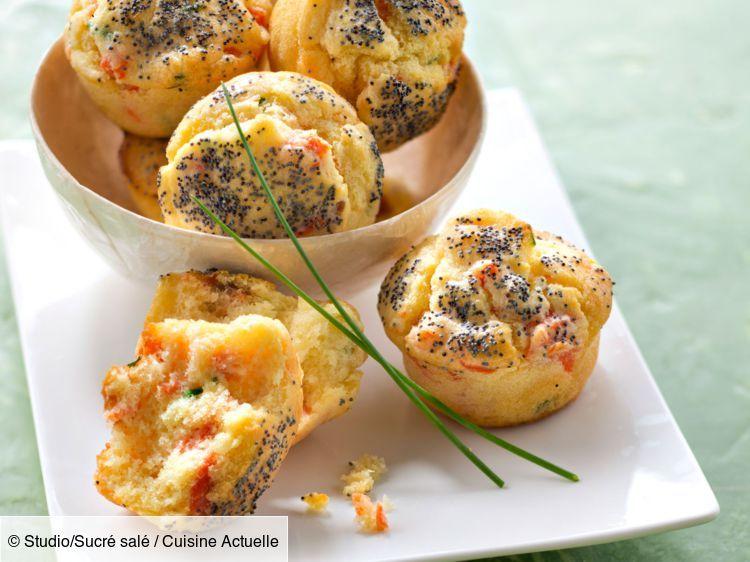 Muffins salés saumon - Recettes