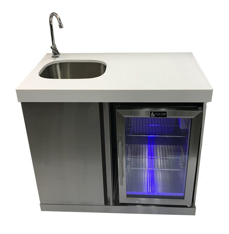 Outdoor Free Standing Bar Center Sink Outdoor Sinks Outdoor Kitchen Sink Sink