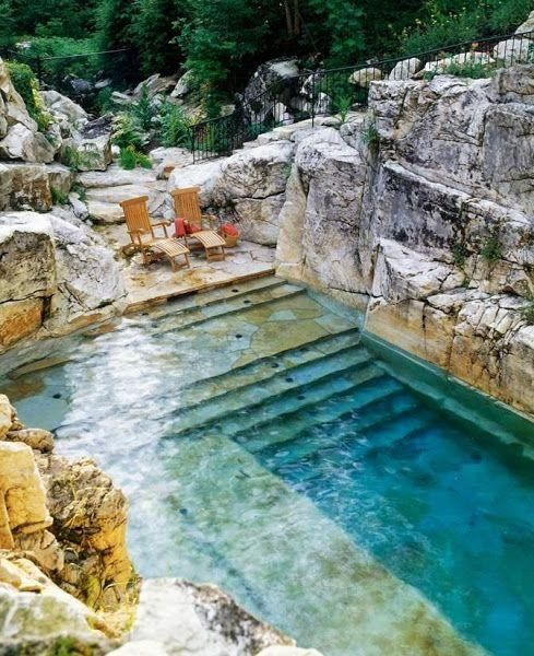 7 Amazing Houses Built Into Nature: Ideas Para La Piscina, Crea Un Jardín Para Disfrutar De él