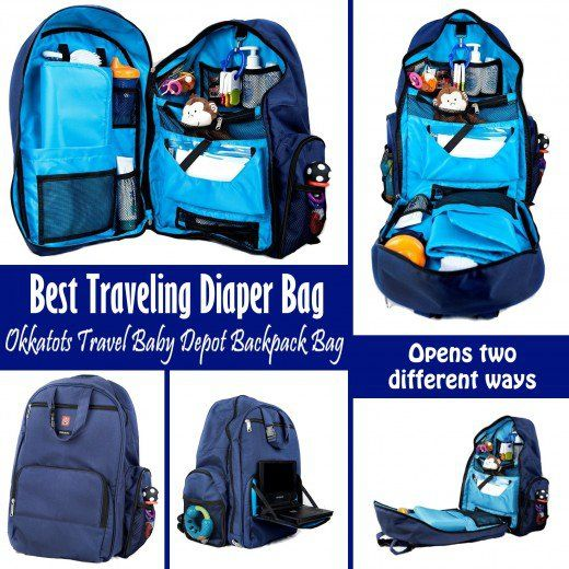The Okkatots Travel Baby Depot Backpack Bag Is Coolest Ever For Traveling With A I Don T Think You Can Find Any Better To Carry All Your