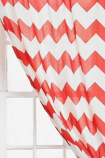 Zigzag Curtain | Bedrooms, Room and Chevron curtains