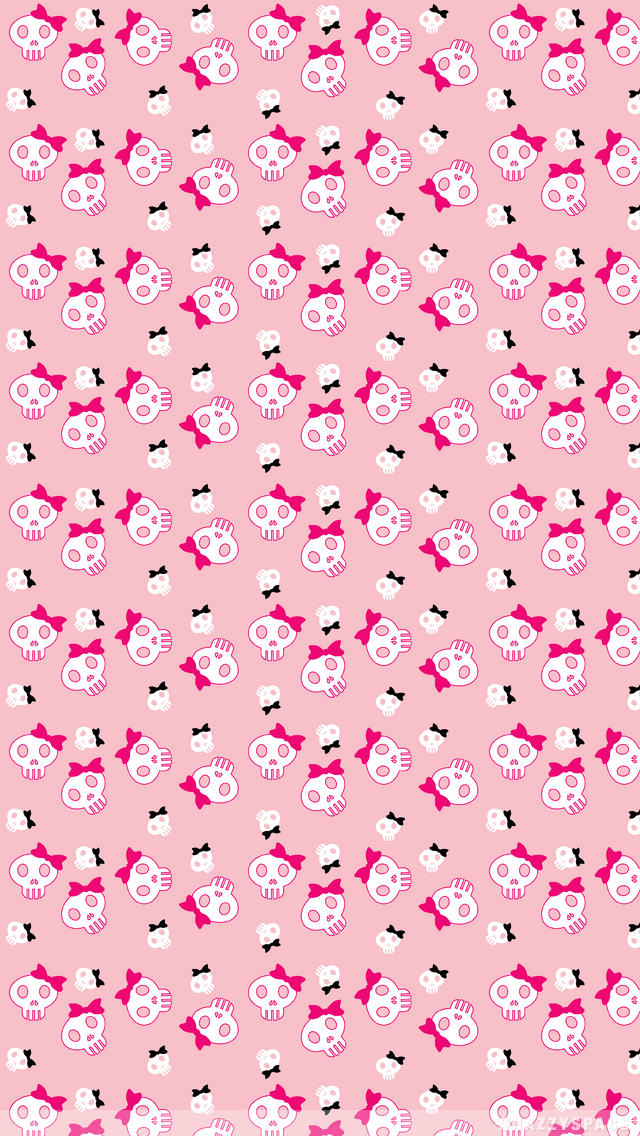 000000cute aniskullsg 6401136 random wallpaper pinterest pink girly skulls and bows wallpaper voltagebd Choice Image