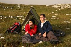 Threesome etiquette camping