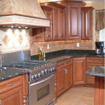 Exceptional Hardwood Kitchen Cabinets, Custom Built. Evansville, Indiana...Amish  Cabinets.