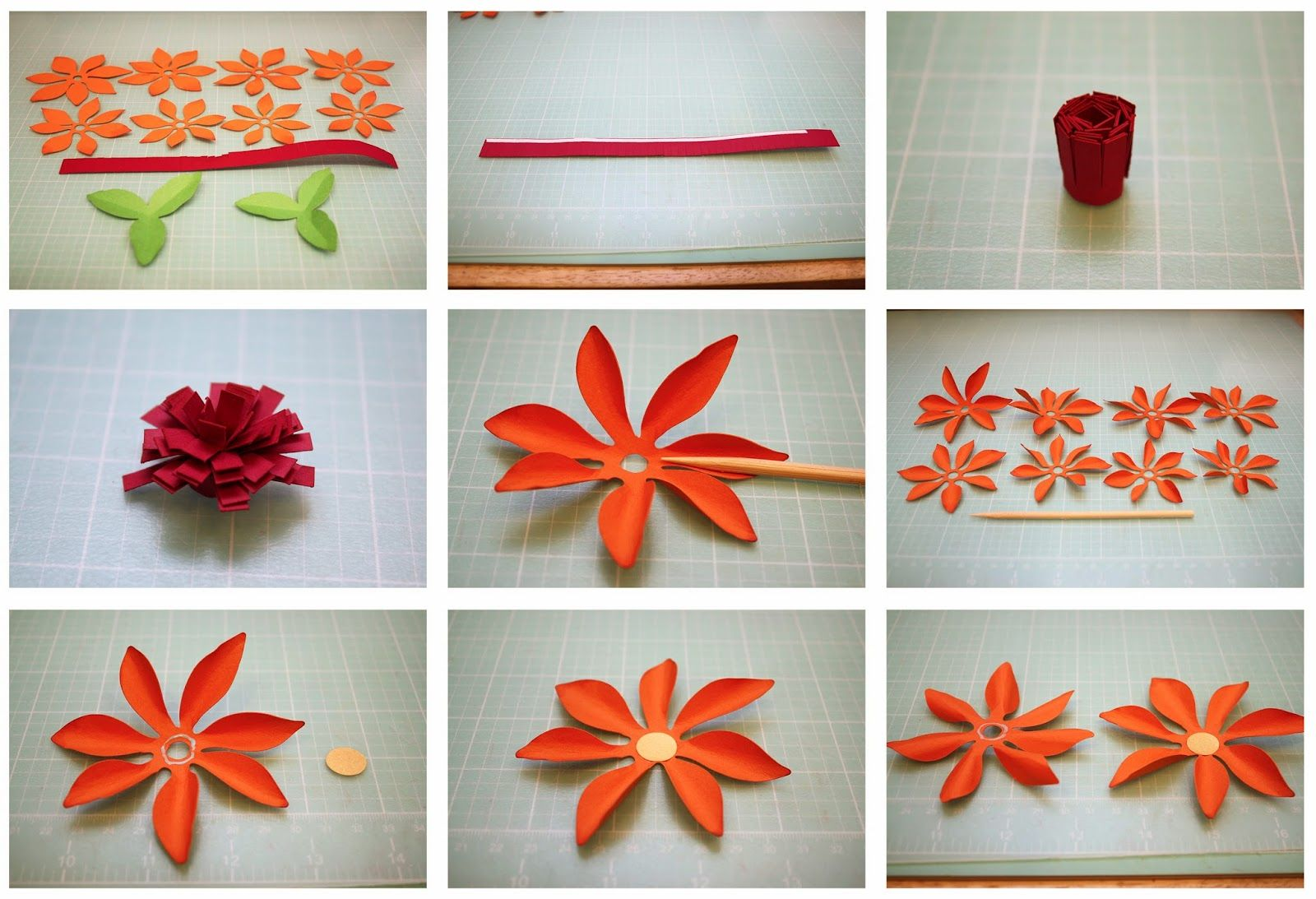 Bits Of Paper Mum 3d Paper Flowers All About Quilling Technique