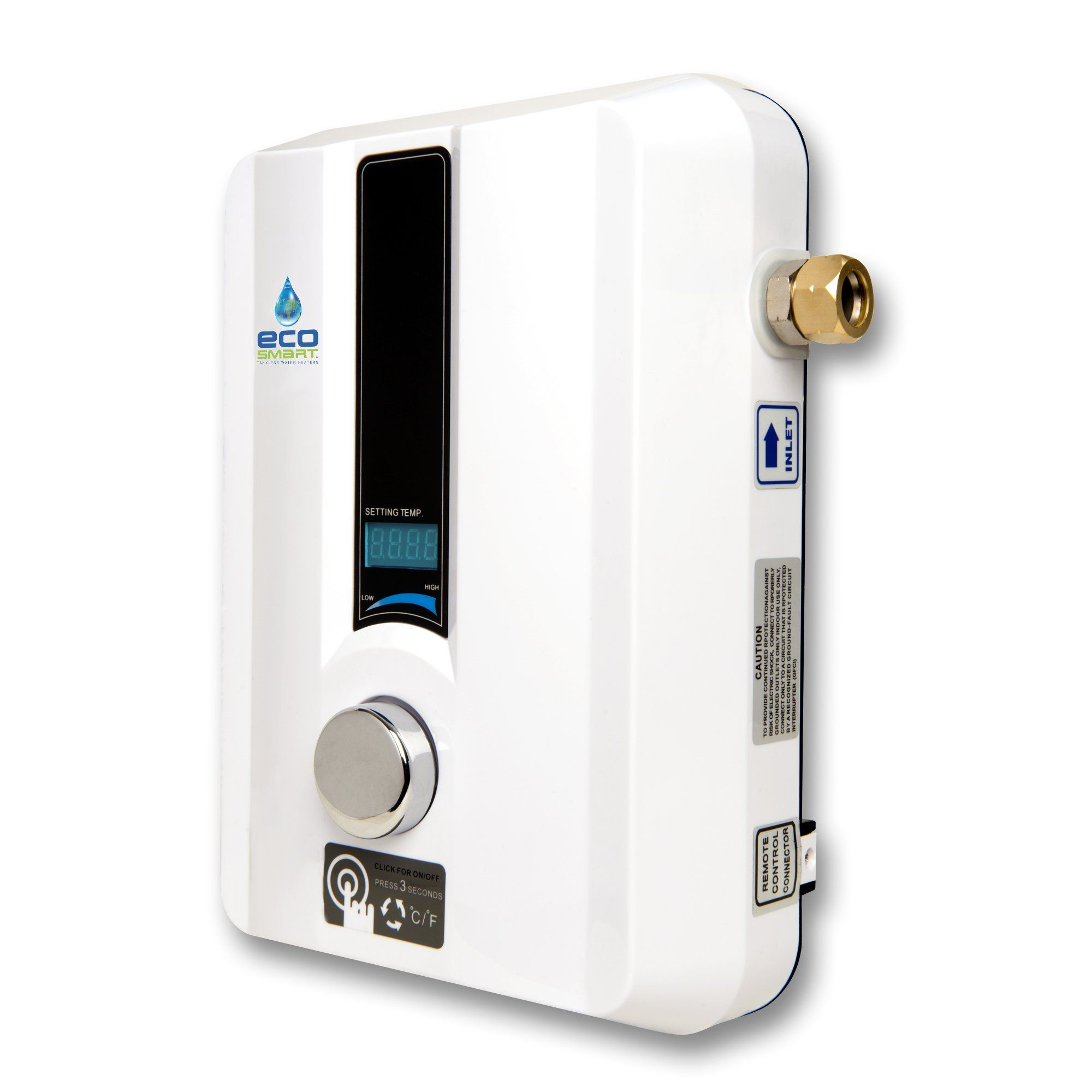 Ecosmart eco 11 electric tankless water heater 13kw at