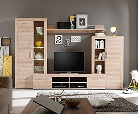 Parete Mobili Porta Tv Design.Soggiorno Moderno Iago Composizione Mobile Porta Tv Con Led
