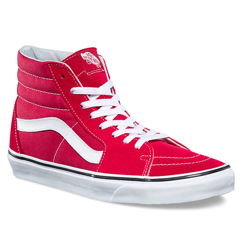 Mens Womens Red, Vans Sneakers ⋆ Northleach Wines
