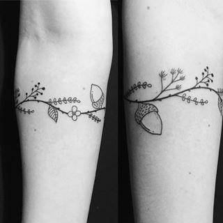 Acorn And Lavender Tattoo Google Search Acorn Tattoo Arm Band