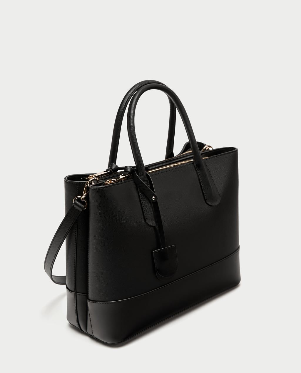a9856783 CITY BAG WITH PENDANT-Essentials-BAGS-WOMAN | ZARA United States ...