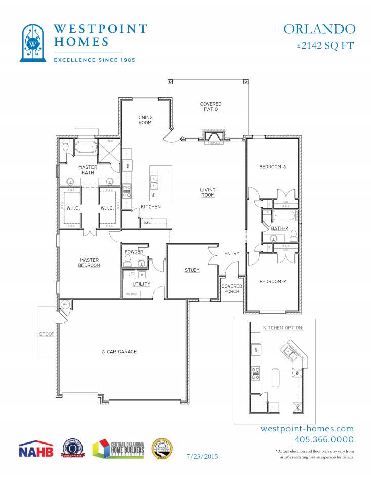Orlando floor plan - open and inviting! #floorplan