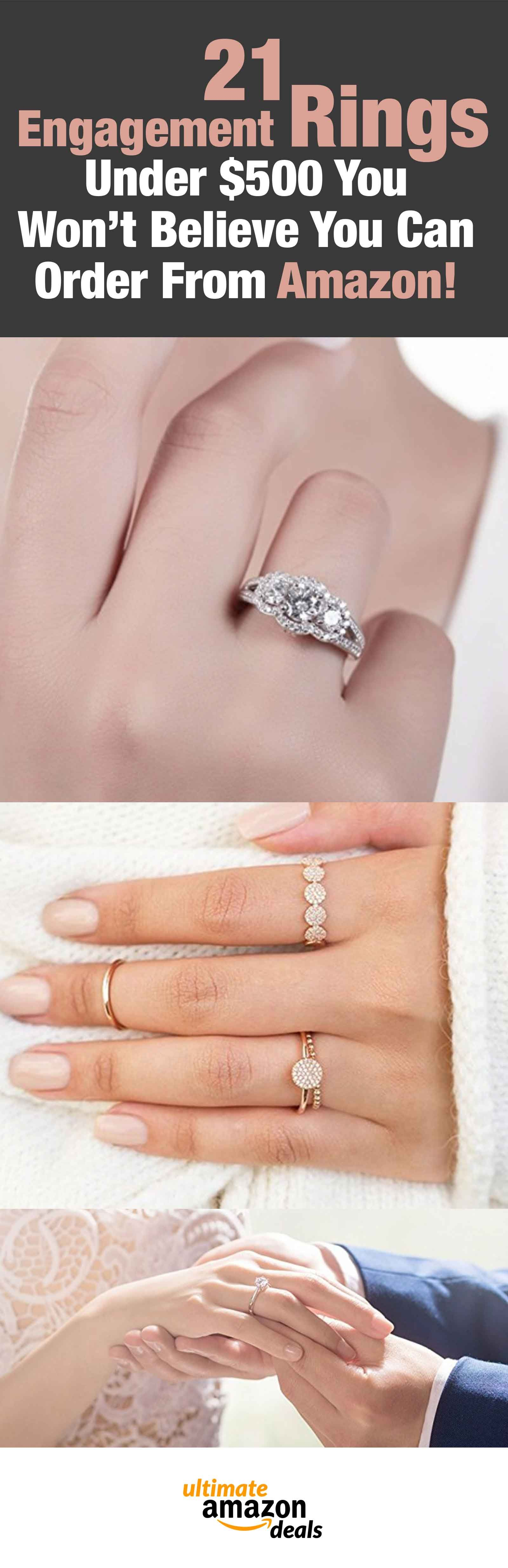 21 Engagement Rings Under $500 You Won\'t Believe You Can Order From ...