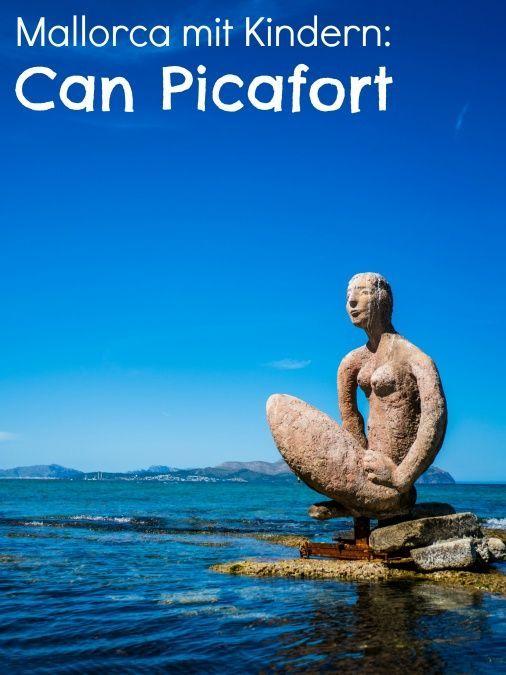 Strand Can Picafort Auf Mallorca Mit Kindern Mallorca Can
