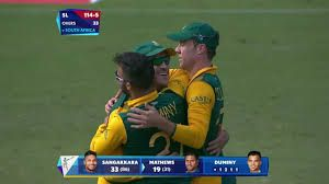 367cafab109 Duminy hat trick hd Video highlights links vs Sri lanka ICCCWC2015 ...