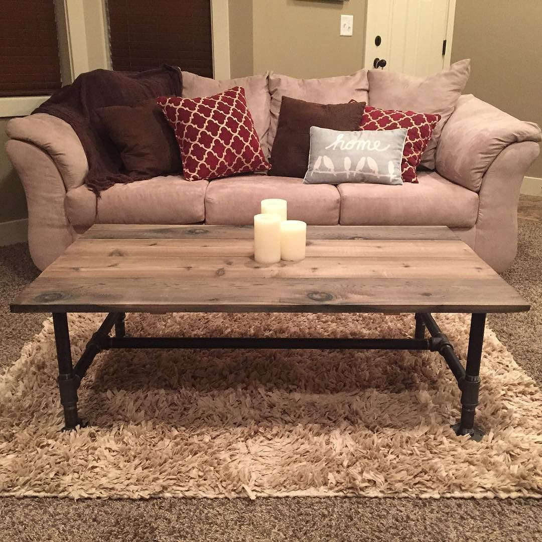 Rhino Custom Furniture On Instagram Reclaimed Wood Industrial Coffee Table For Sale Rhinofurniture Industrialfurniture Pipefurniture Pipetable Modern M [ 1080 x 1080 Pixel ]