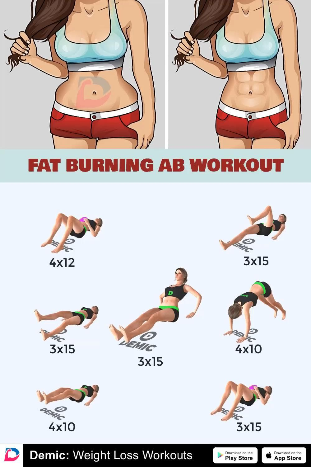 Abs Workouts Routines Fitness Training Videos