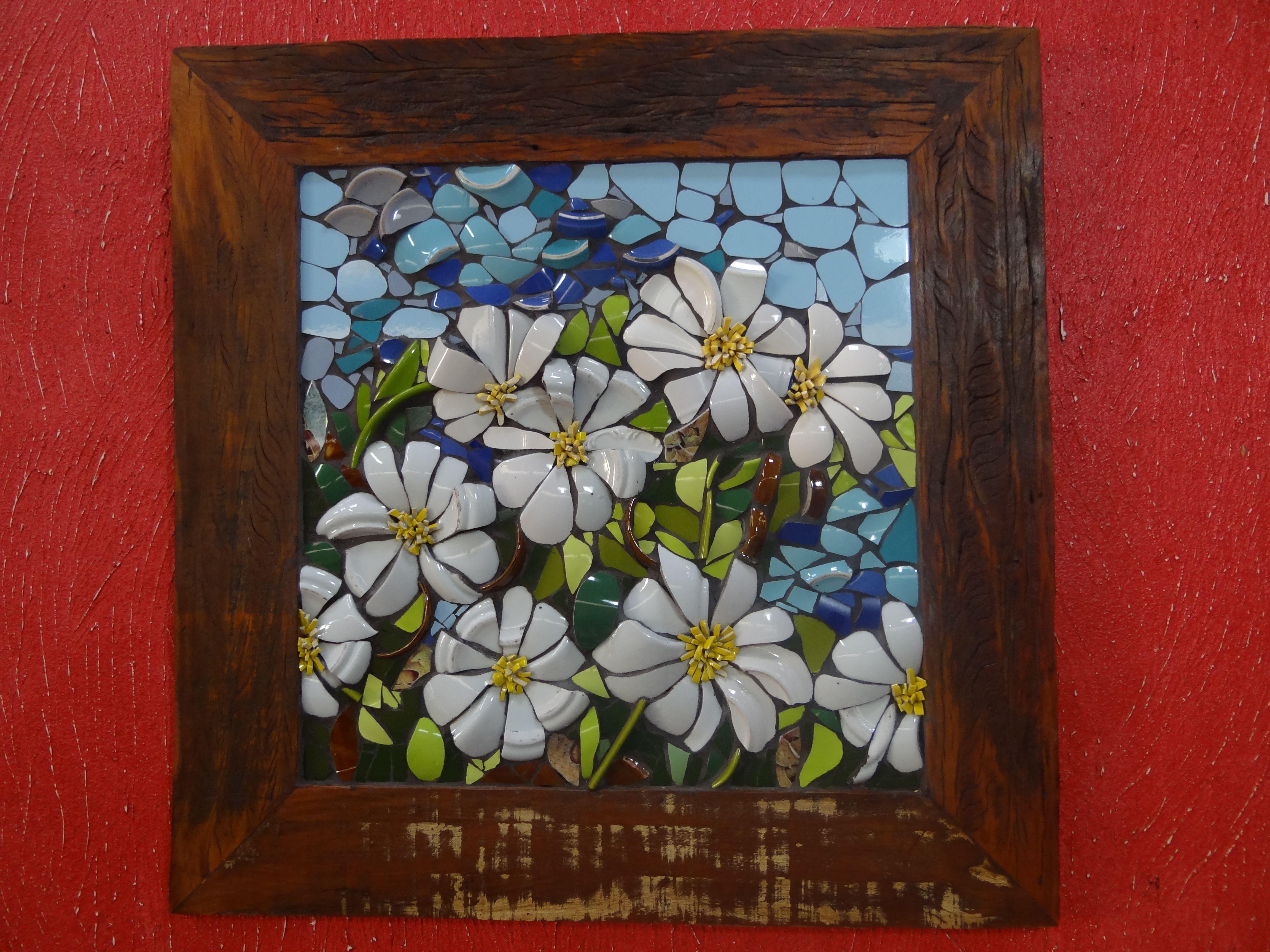 floral | mosaicos Arlete | Pinterest | Mosaicos, Patrones y Arte