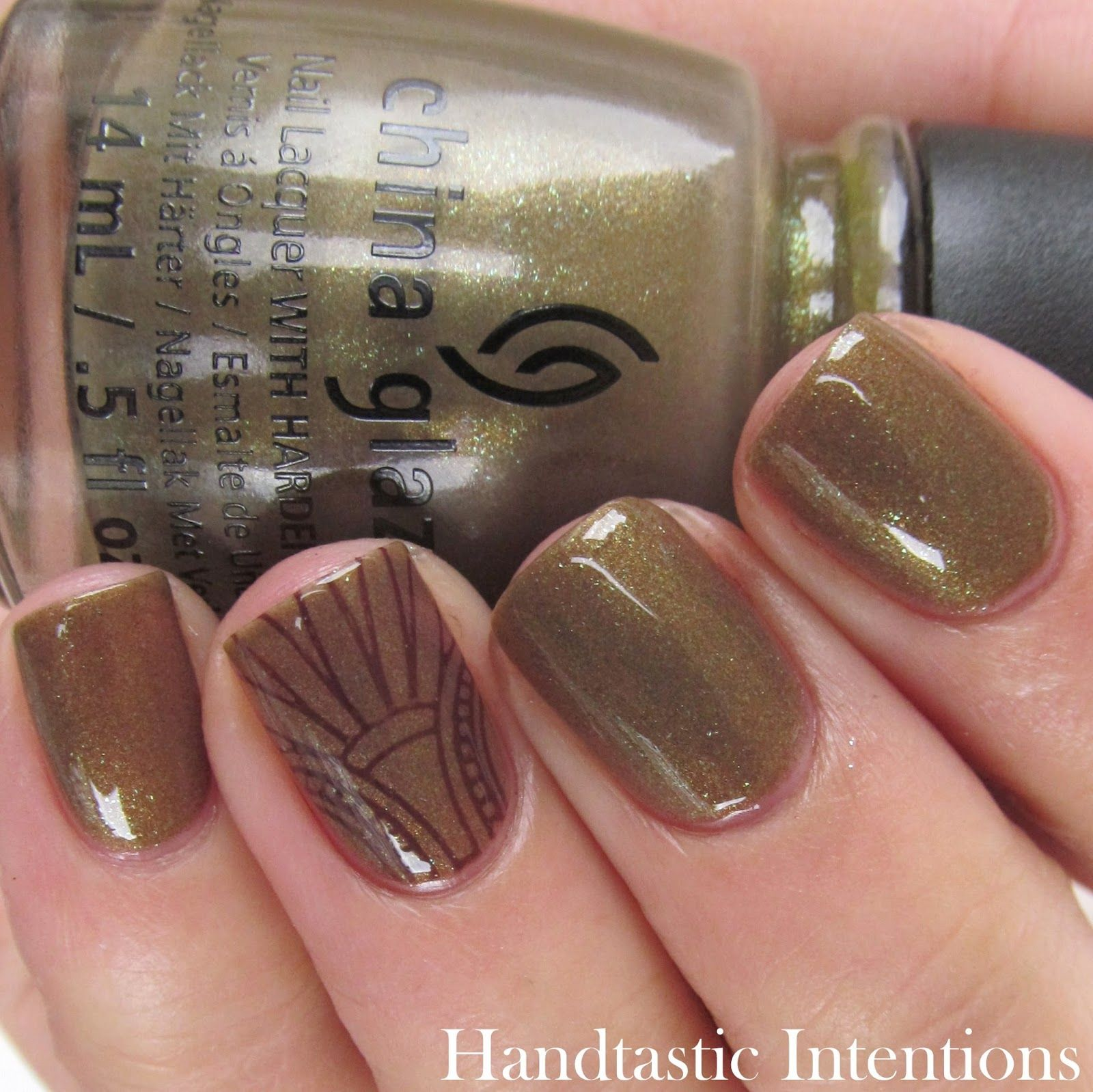 Handtastic Intentions: China Glaze Mind the Gap | Passion for nails ...