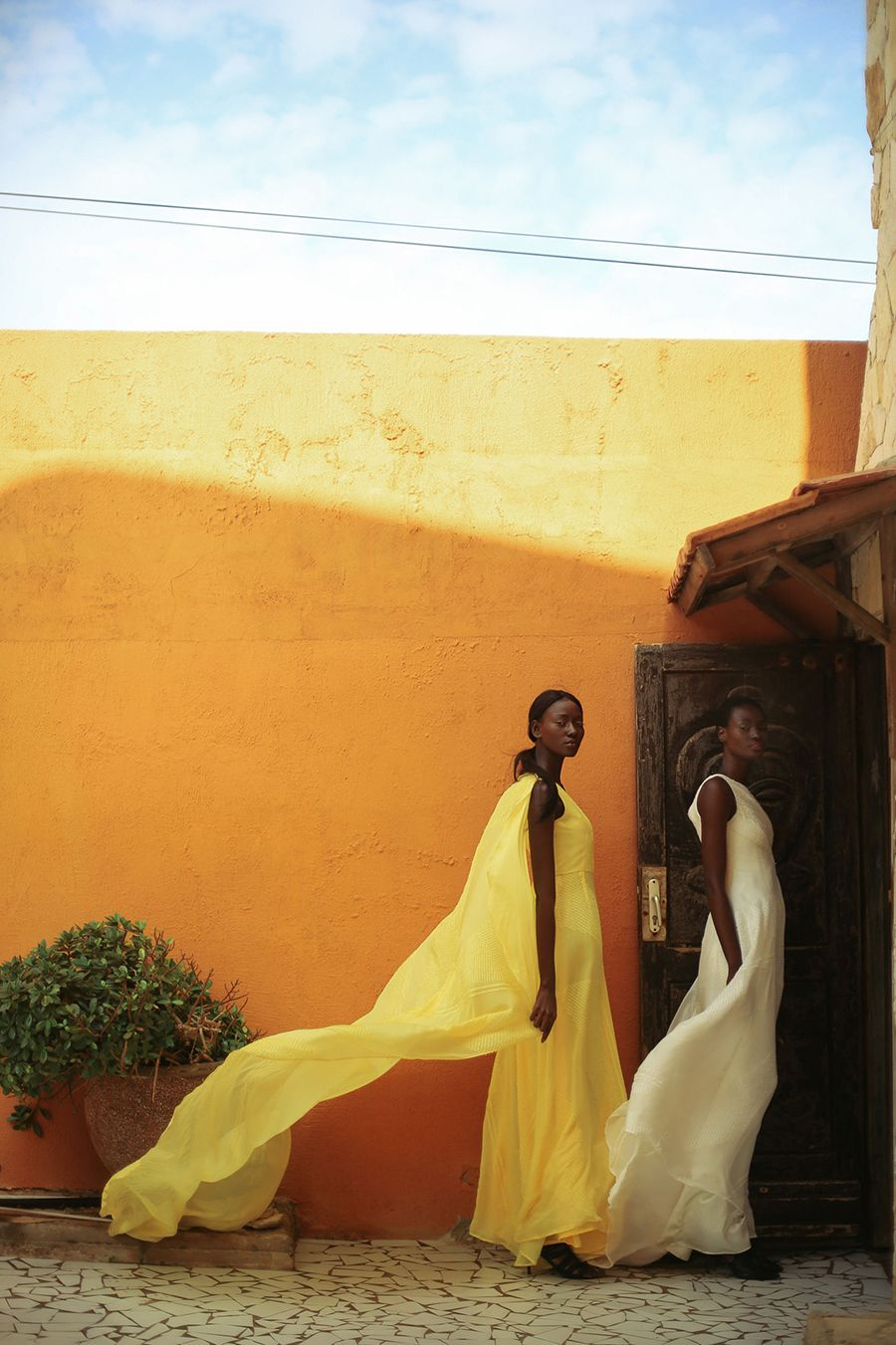 Senegalese Designer Sophie Zinga Presents Her New Collection 'Hibiscus' | FashionGHANA.com: 100% African Fashion
