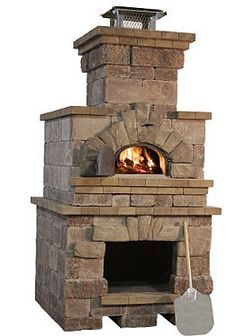 outdoor fireplace pizza oven combo | Harmony Outdoor Living Areas ...