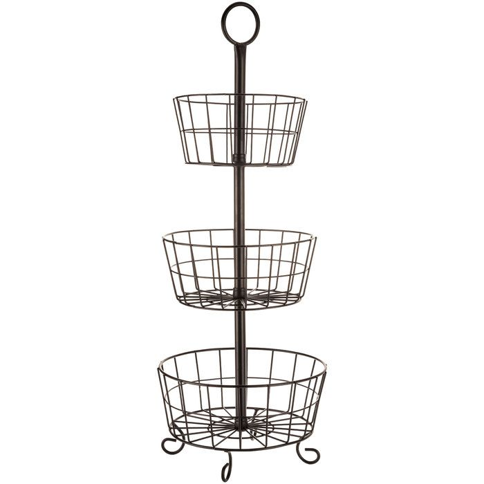 Get Black Three Tier Basket Stand Online Or Find Other Baskets Products  From HobbyLobby.