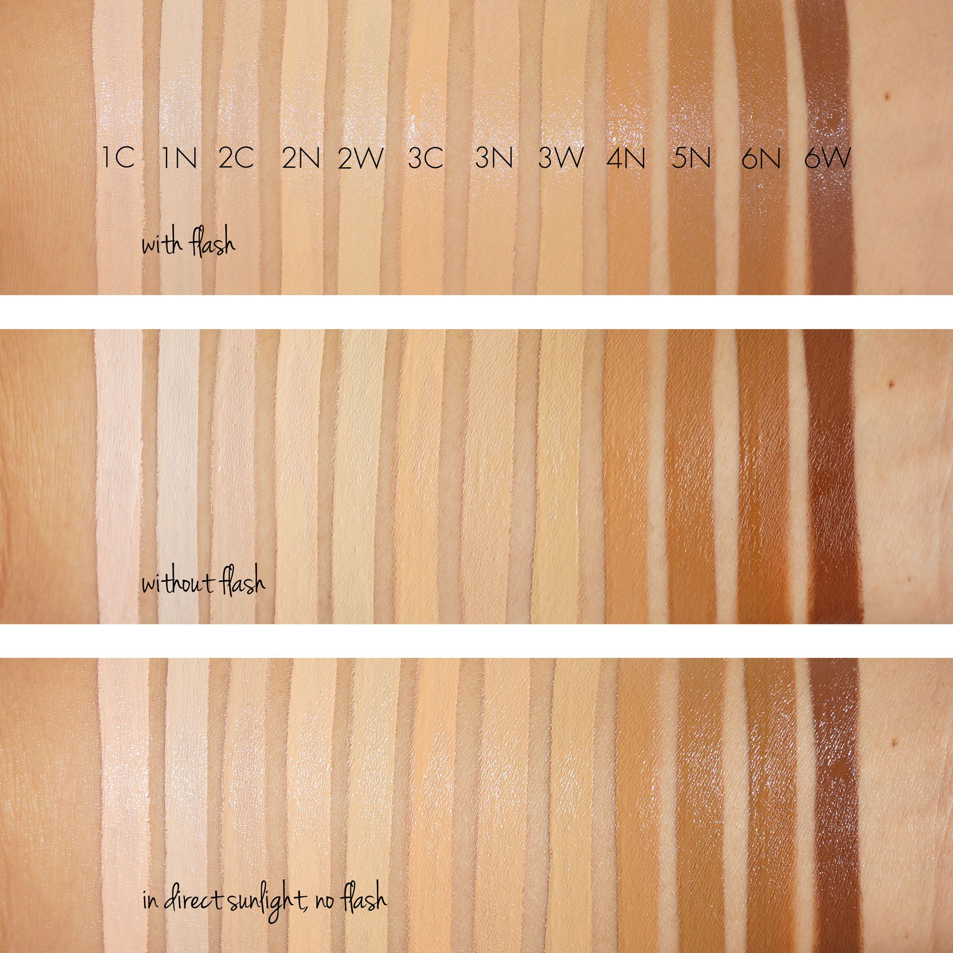 Laura Mercier Flawless Fusion Concealer Swatches and ...