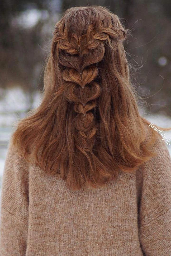 30 Cute and Easy Long Hairstyles for School | Long hair ...
