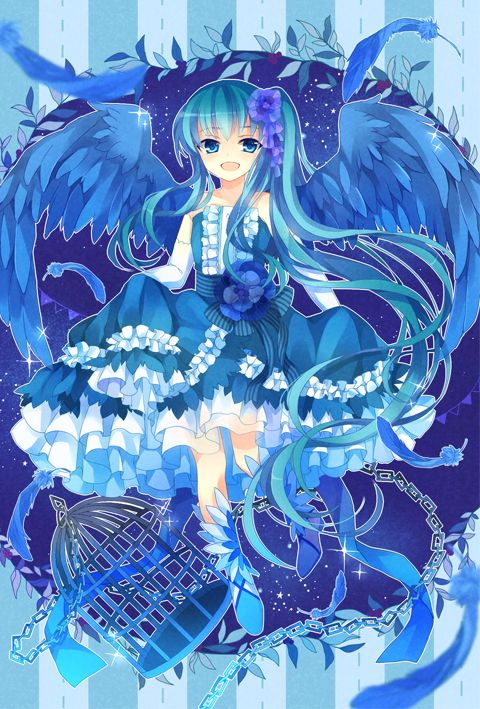 Anime Girl In Blue Wattpad En 2018 Pinterest Manga Dessin