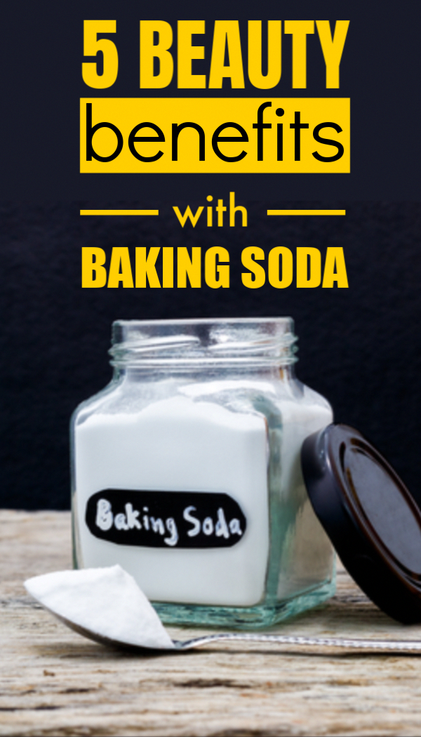 5 Amazing Ways To Use Baking Soda For Beautiful Hair, Fair Skin And Gorgeous Looks #fairskin #beauty #instabeauty #beautytips #glowingskin #skinglow #skincaretips #BakingSodaHairShampoo #BakingSodaShampooRecipe