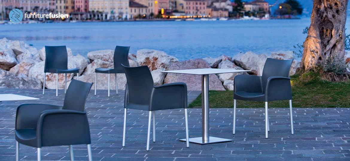 Ice 850 Armchair is comfortable,ergonomic + suitable for outdoors…