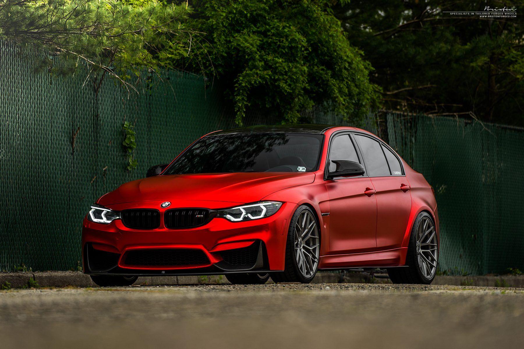 Red Bmw M3 Carros