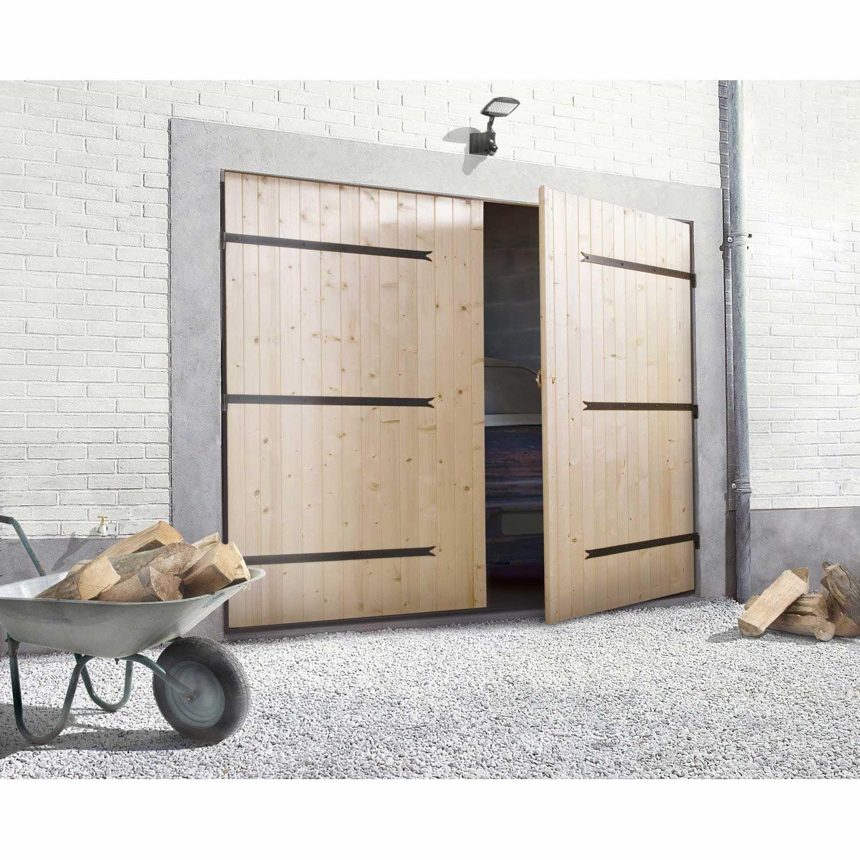 Porte De Garage Sectionnelle Avec Portillon Leroy Merlin Genial Porte De Garage Sectionnelle En 2020 Porte Garage Bois Porte Garage Garage Bois