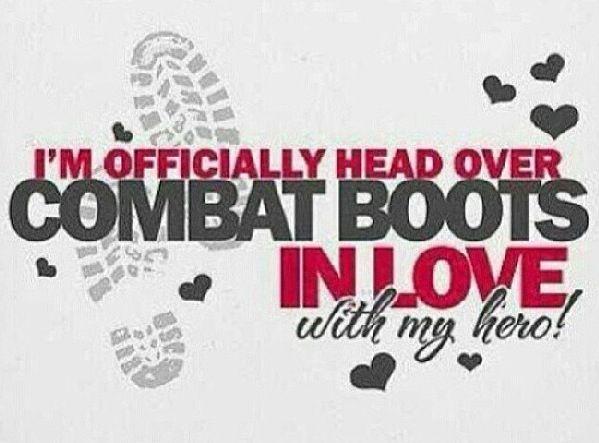 私は私の軍隊のボーイフレンドが大好き