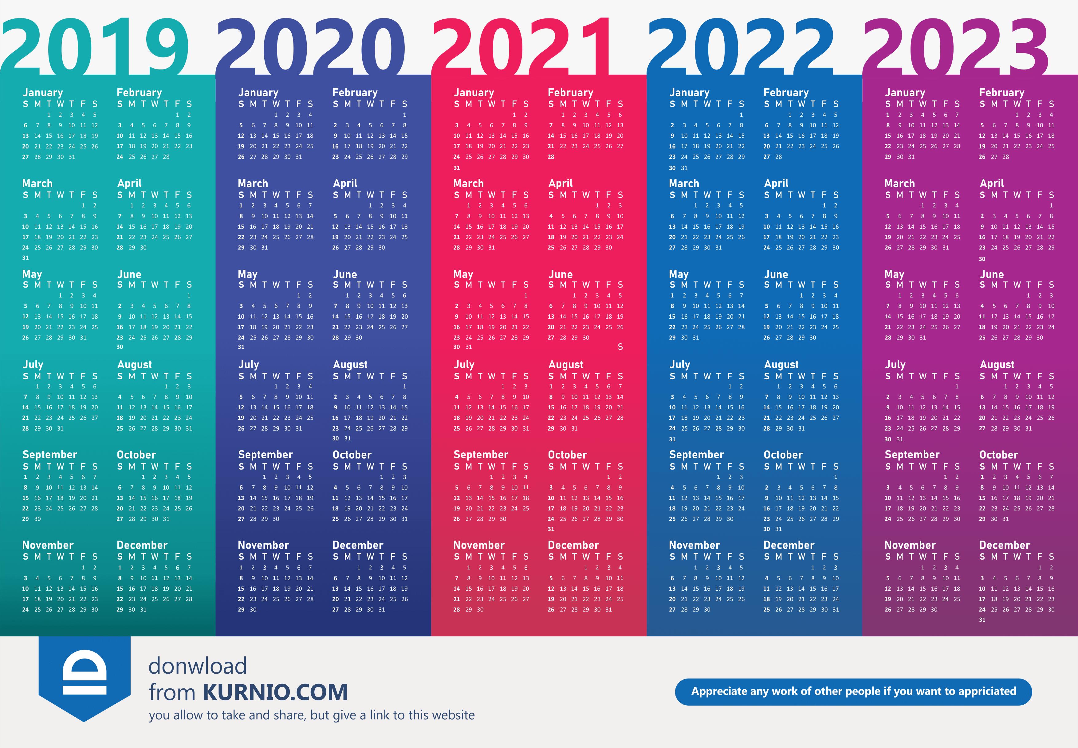 Calendar 2019 Dengan Gambar