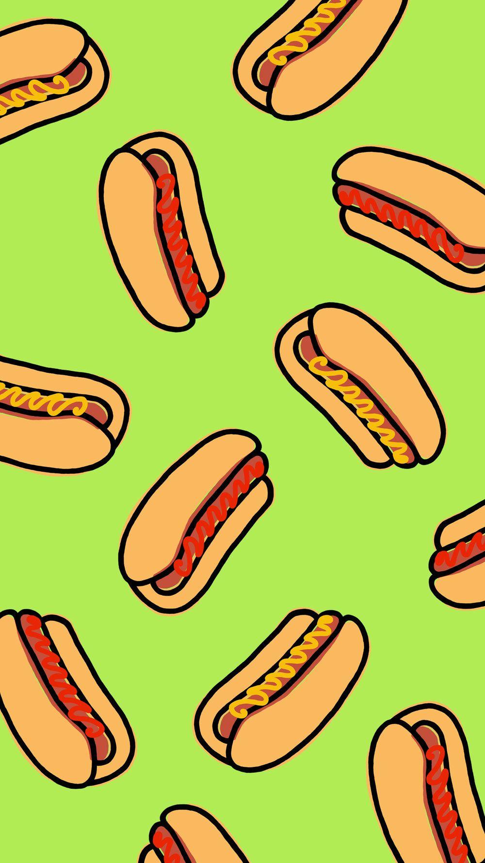 Hotdog Wallpaper En 2019