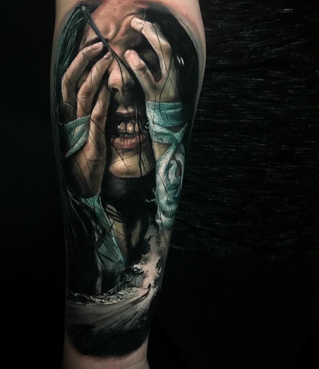 Tattoo Artist Damon Holleis Tatowierungen Tattoos Tatowieren